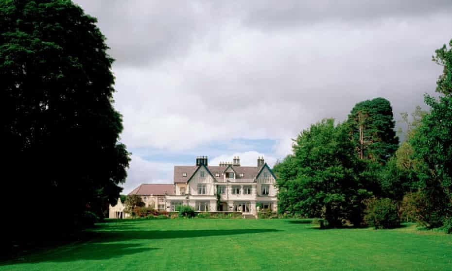 Dromquinna Manor Hotel, Kenmare Bay, Co Kerry, Ireland.