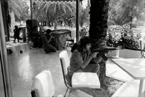 Cypriot forces at the Ledra, which then became home to UN troops. British peacekeepers arrived in 1993.