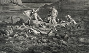 Dante and Virgil cross the Styx river in Gustave Doré's interpretation of the poet's vision of hell