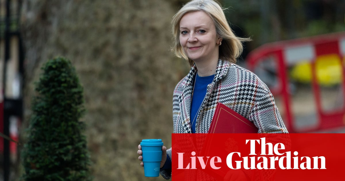 3818 - Trade secretary Truss takes swipe at Washington, saying US can't decide UK tax policy on tech giants – live news | Politics