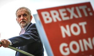 Jeremy Corbyn at the Extinction Rebellion protest