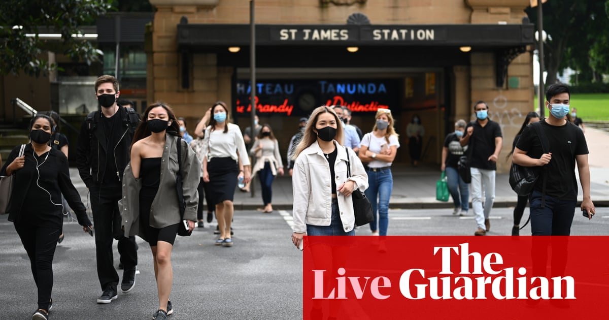 Australia news live: NSW considers easing Covid restrictions as vaccine information campaign launches - the guardian