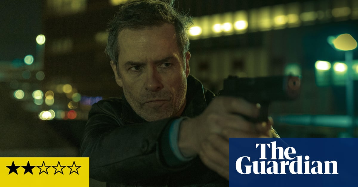 Zone 414 review – Guy Pearce grimaces through soulless Blade Runner clone