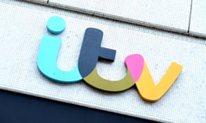 ITV logo on The London Studios in London
