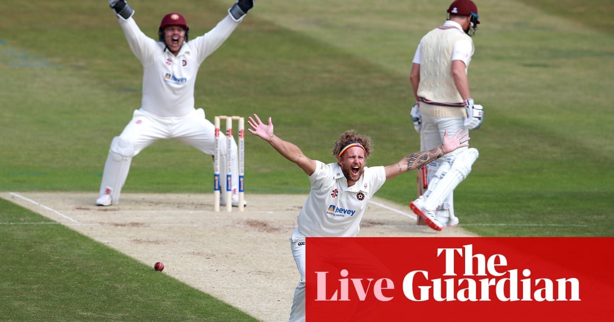 Bob Willis Trophy, county cricket: Northants v Somerset and more – live!