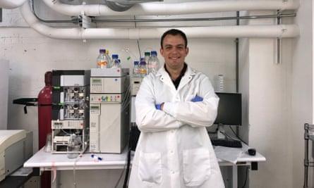 Benjamin Pavlik, the co-founder of biotech company Neurocarrus,
