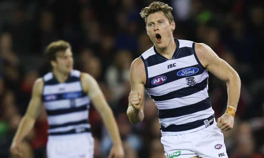 The rise of Geelong player Mark Blicavs during 2015 was astounding.