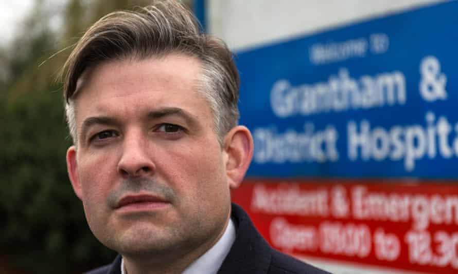 Jonathan Ashworth, shadow health secretary