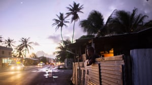 Unemployment in the Marshall Islands is about 36% and many choose to leave in search of employment in the US.