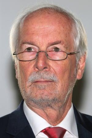 German federal prosecutor General Harald Range is leading the investigation into Netzpolitik.