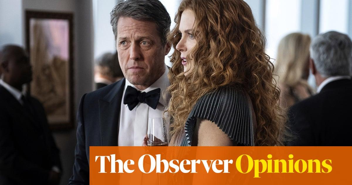 Hugh Grant and Nicole Kidman: stars of the perfect whodunnit, thanks to its ultimate plot twist | Rebecca Nicholson
