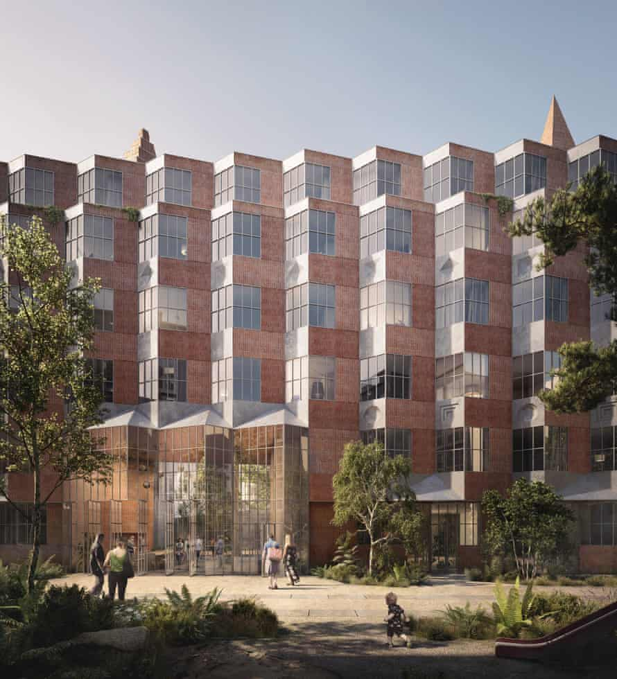 A CGI of Kohn's Lützowufer apartment block in Berlin.