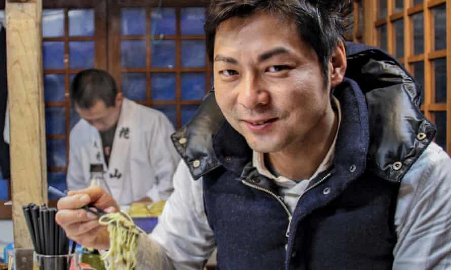 Blogger Toshiyuki Kamimura eats 400 Bowls of ramen a year.