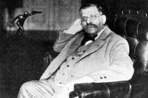 Magnus Hirschfeld, an early campaigner for gay rights.