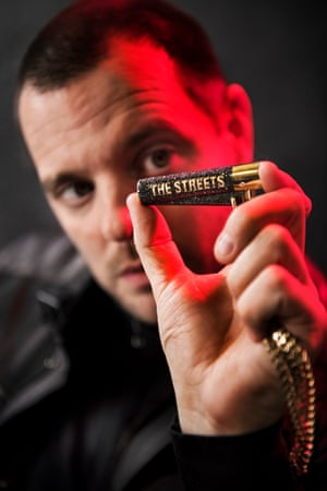 Mike Skinner: 'Just don't make me look like Eric Clapton, OK?'