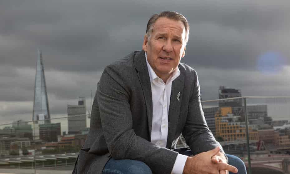Paul Merson in London in September 2021