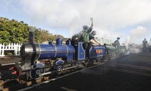 The last day of Kerr's miniature railway in Arbroath, Scotland.