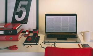 Cute Home Office Desk.Stocksy txpe9fae5140Y7200 OriginalDelivery 157162