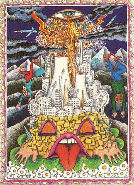 Walter Wegmuller's The Tower.