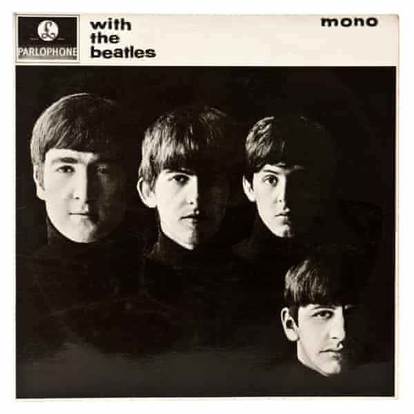 The LP cover for With the Beatles (1963).