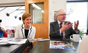 First Minister Nicola Sturgeon and Constitutional Relations Secretary Michael Russell