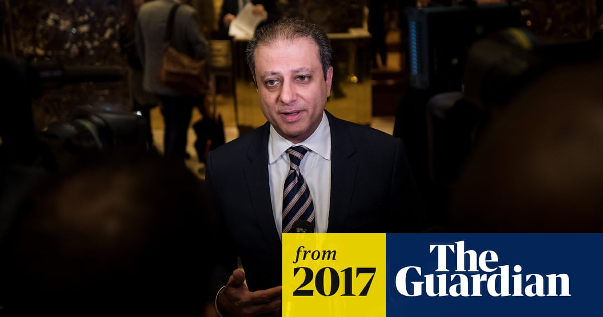 US attorney Preet Bharara fired after refusing Jeff Sessions' order