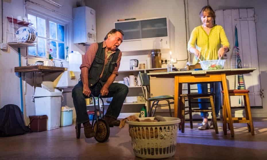 Ron Cook (Robin) and Deborah Findlay (Hazel) in The Children by Lucy Kirkwood at the Royal Court.