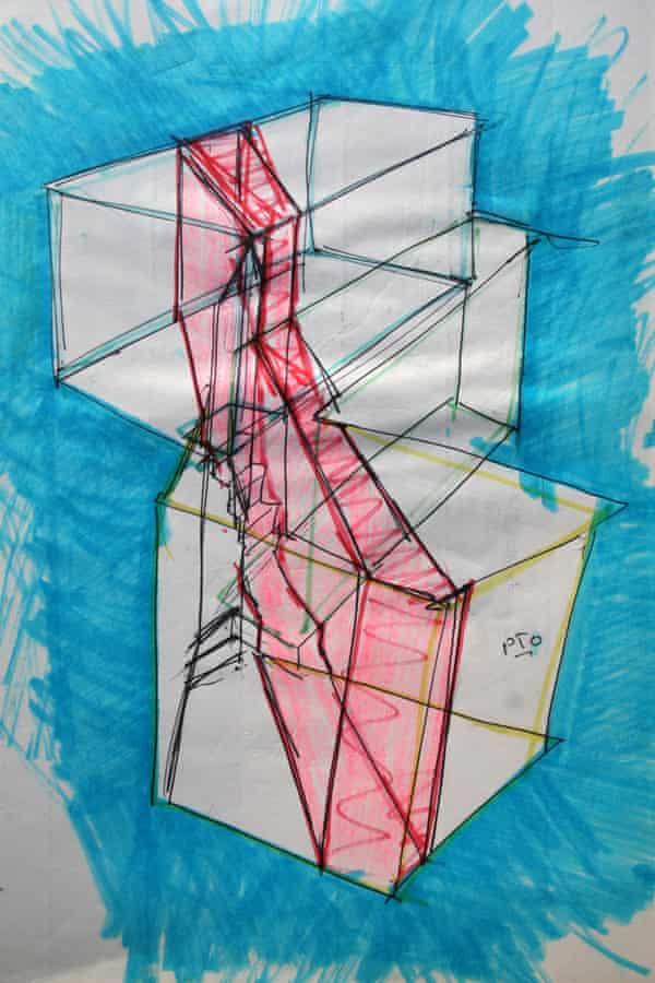 Untitled sketch by Richard Wilson (2016)