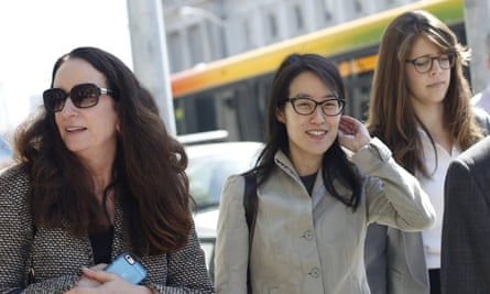 Ellen Pao, center: 'Most women have experienced some version of this.'