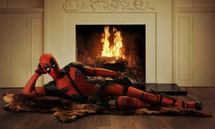 Ryan Reynolds as Deadpool.