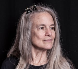 Sharon Olds, photographed at the Royal Festival Hall