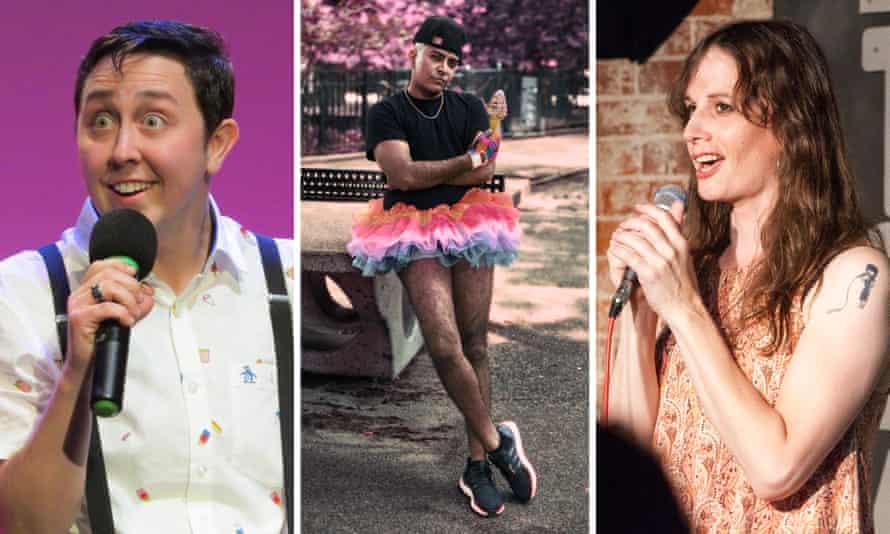 Comedians Jeffrey Jay, D'Lo and Jaye McBride.