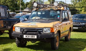 Tough going: all five variations of the Land Rover Discovery will be on show this June at the National Motor Museum