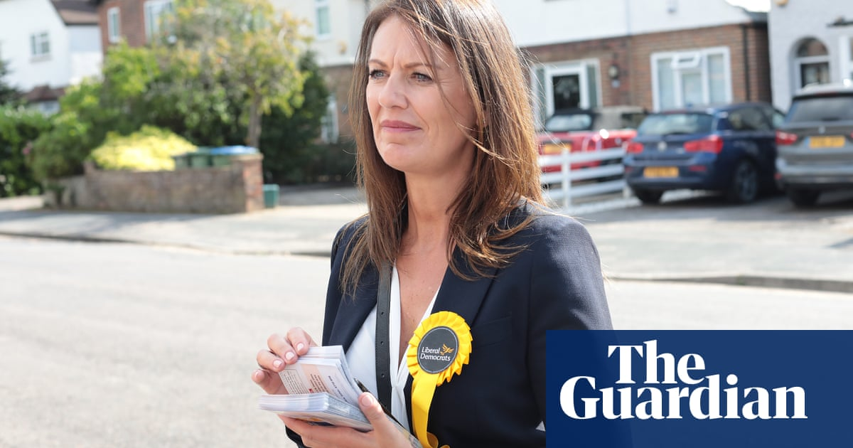 Mood in Raab's Surrey seat buoys Lib Dems on eve of party conference