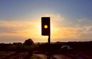 Traffic light, Surrey, 2008