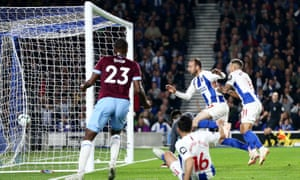 Glenn Murray gives Brighton the lead from close range