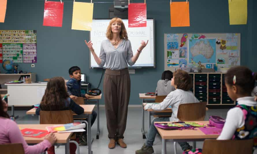 Cate Blanchett as a school teacher in Manifesto.