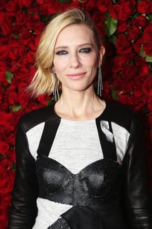Actor Cate Blanchett.