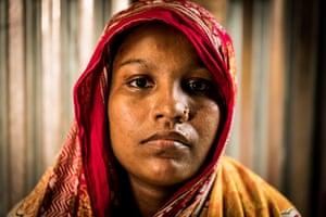 Shoripa Bibi from Kalikabari now lives in Dhaka.