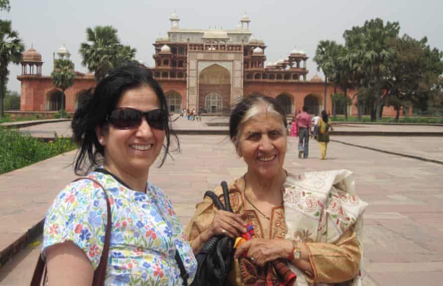 Rahul Raina's Mother and Grandmother