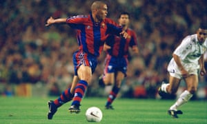Ronaldo scored 47 goals in 1996-97 – his only season at Barcelona – before an acrimonious transfer to Internazionale.