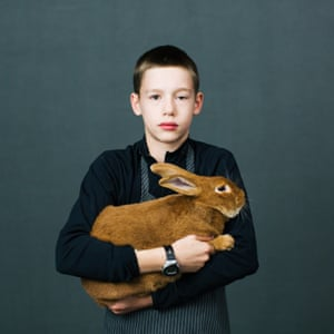 Portraits from the American Rabbit Breeders Association convention by photographer Katya Rezvaya