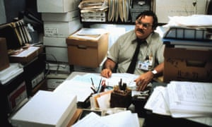 Office Space explored the stifling influence of work and the evolving mores of masculinity.