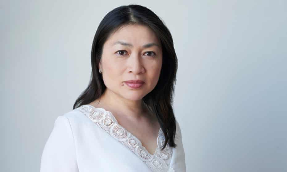 Mellissa Fung, head and shoulders, on a white background