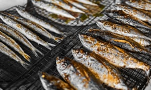 Fishy tales … grilled mackerel could be one of your two portions of fish a week