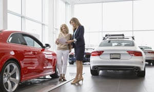 Consumers are hesitating to buy new cars or goods, which is hampering attempts at recovery.