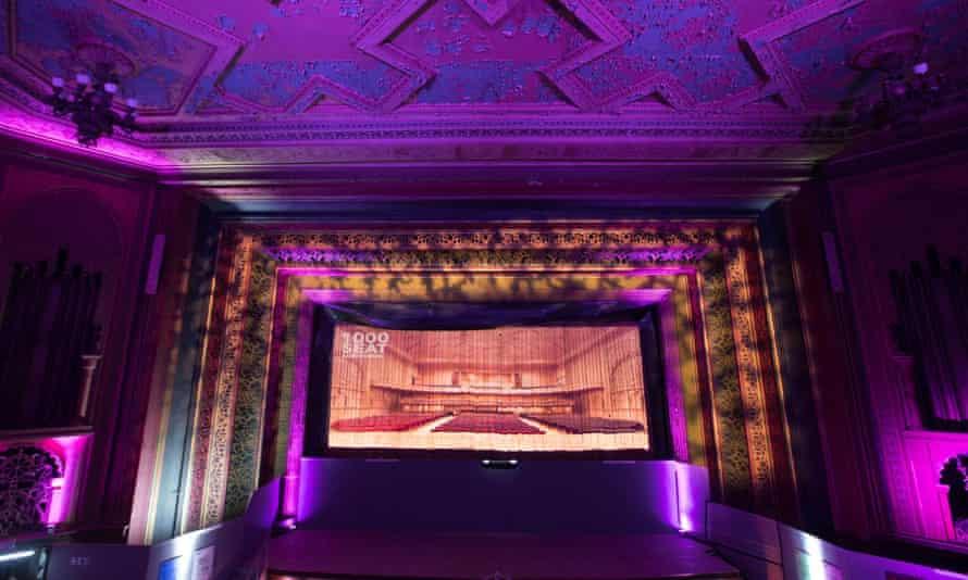 The interior of the Granada cinema building
