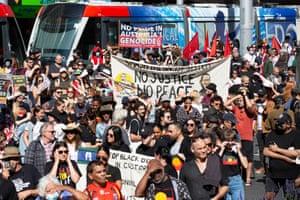 Stop Black Deaths in Custody protest, Sydney