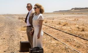 Daniel Craig and Léa Seydoux in Spectre.