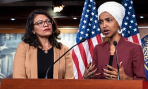 Ilhan Omar and Rashida Tlaib.